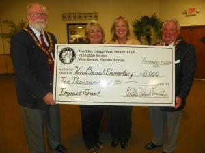 Elk Present $10,000 Grant