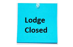 Lodge Closed